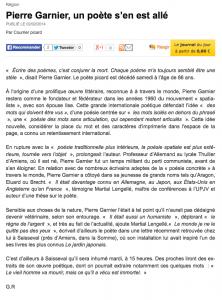 Le Courrier Picard, 02/02/2014